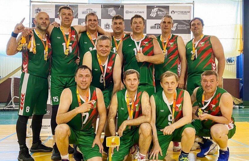 Баскетболисты ядерного центра выиграли чемпионат области среди ветеранов