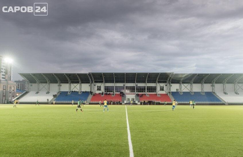 Саровчане могут попасть на футбол только со справкой