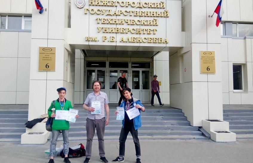 Роман и Даниил Кротовы взяли награды на областных состязаниях по робототехнике