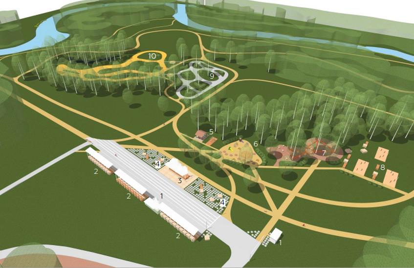 Благоустройство лыжной базы в Сарове завершится до конца 2019 года