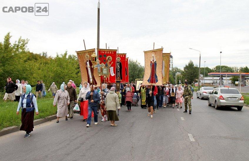 Крестный ход Саров – Дивеево – Саров