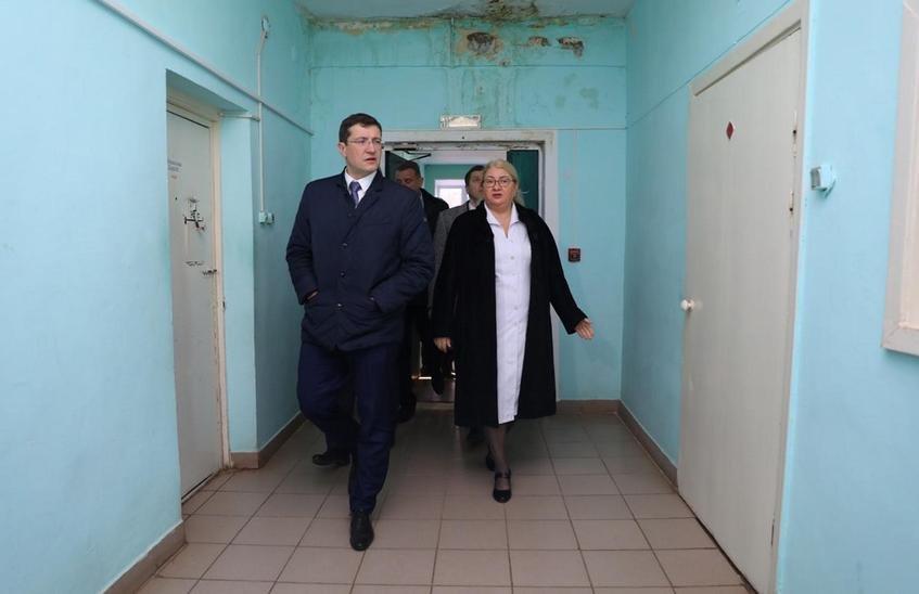 Глеб Никитин проверил работу Вознесенской центральной районной больницы