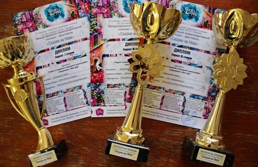 Юные саровские танцоры выиграли международный конкурс «Сказки на Неве»