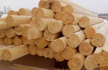 Житель Мордовии своровал 55 бревен у саровчанина