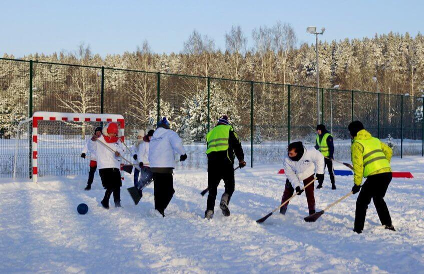 Саровчане отметили Всемирный день снега на Лыжной базе