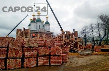 Строительные работы на Монастырской площади